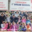 Сераджем: закладка 1-го камня в «Школу мечты» (Индия)